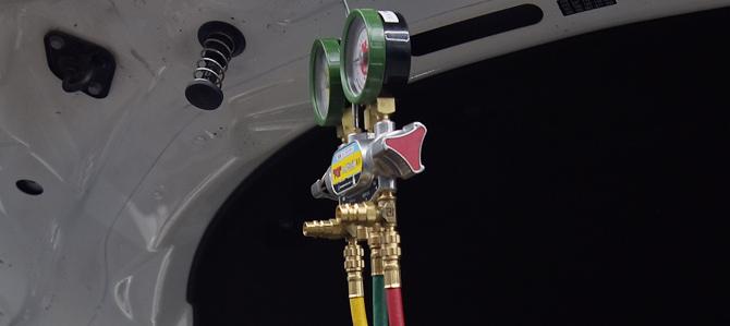 エアコンガス点検/充填/真空引き